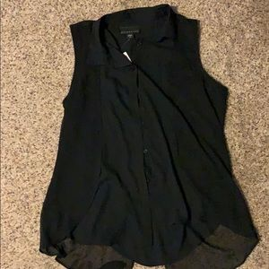 Attention sleeveless blouse